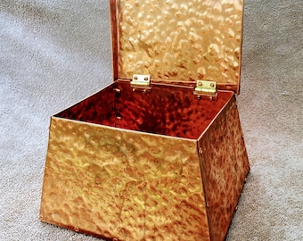 Hammered Copper Chest