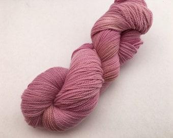 Tasmanian ethical merino sock-'Autumn Rose'