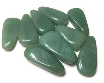 1-5 pieces Green Aventurine Focal Bead Pendant, Statement Necklace