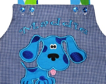 Girl's Blues Clues Birthday Dress or Top and Trousers, First Birthday and Beyond