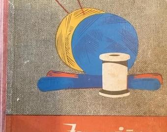 """Latvian book:  """"Jaunajām rokdarbniecēm"""" translated as """"For new handicrafters'"""