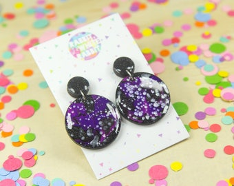 Marble Dangle Earrings