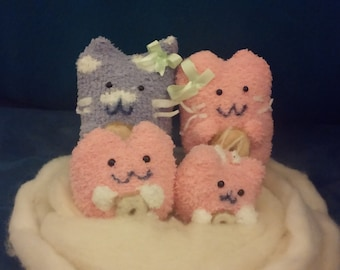 Flumpkin Mumkin stuffed dolls