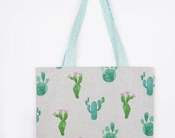 Totebag bag Cactus