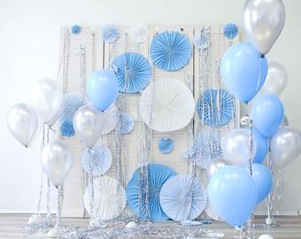Birthday party celebration decor photo backdrops,newborns baby studio paper flowers wall photography backdrops, photo background XT-6804