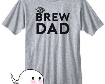 Homebrew Shirt Brew Dad T-Shirt T Shirt Tee Hops Craft Beer Homebrewing Home Brew Beer Making Brewed Husband Mens Pregnancy Announcement