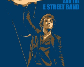 Bruce Springsteen 1978 Tour Poster
