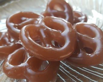 Chocolate Pretzel Soap - Food Soap