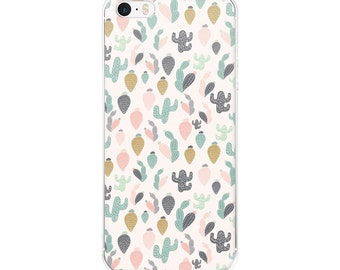 Cactus Iphone Case, Iphone 6 Case Cactus, Iphone 6 Case Clear, Iphone 6 Case Cactus, Iphone Case SE Hipster, Iphone 6 Case Clear