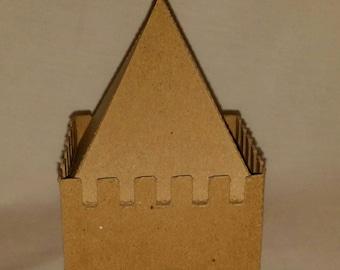 DIY Cardboard Princess Castle