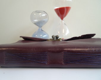 William Shakespeare's Sonnets / Handmade Leather Book, Wrapped