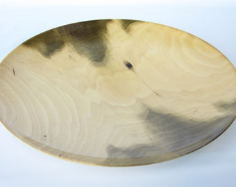 Large Poplar Platter