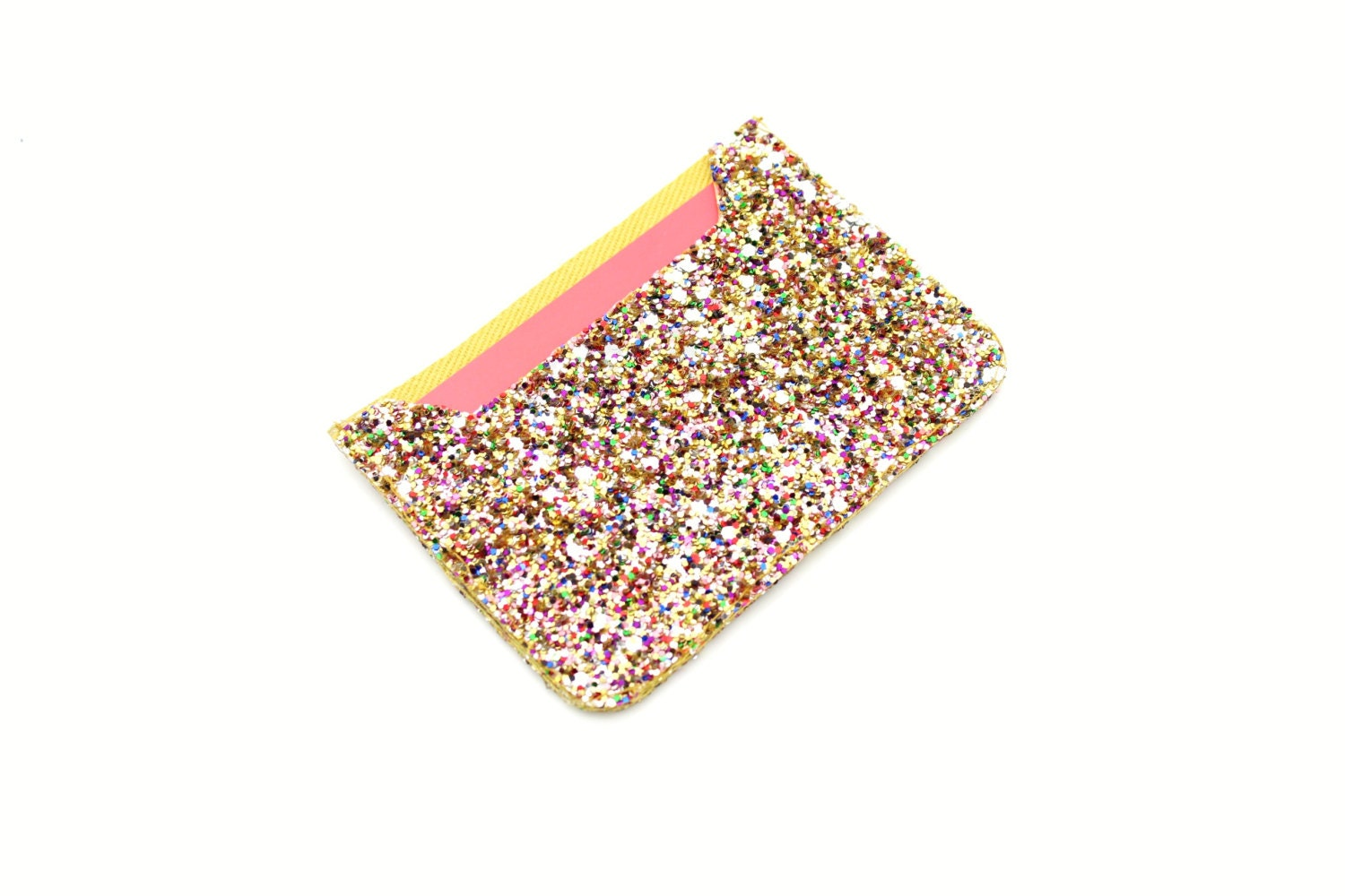 Credit Card Holder Oyster Card Holder Glitter Fabric Travel