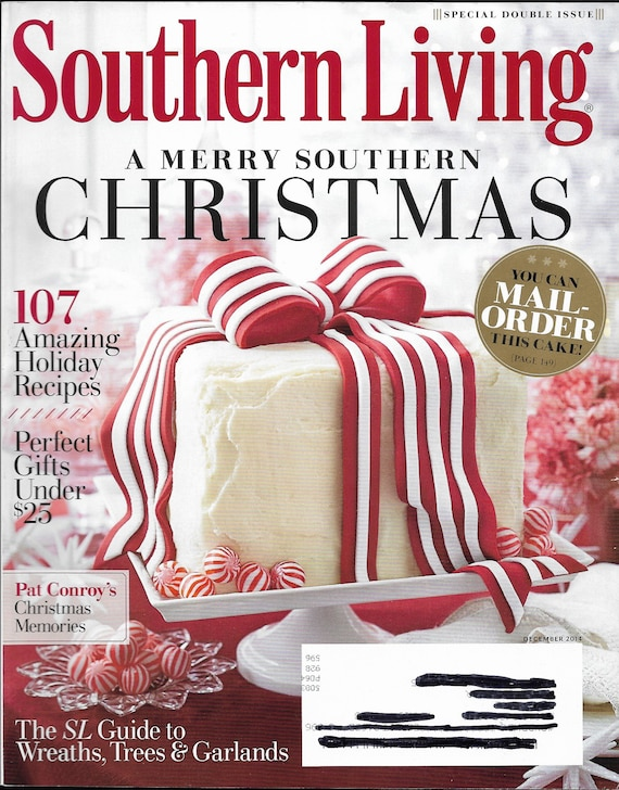 Southern Living Magazine Back Issue December 2014 Special Double Issue  Christmas From Downsizer On Etsy Studio