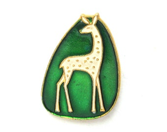 Giraffe, Badge, Animal, Brooch, Vintage collectible badge, Children's Pin, Made in USSR