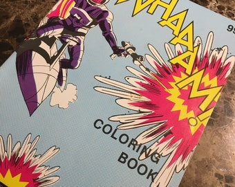 1980's Whaaam Coloring book