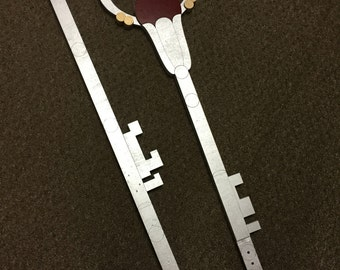 "5' 6"" Sailor Pluto Garnet Rod Staff Replica"