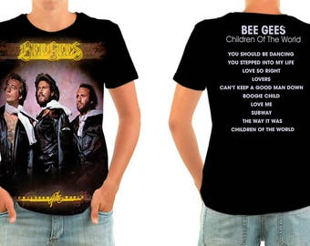 BEE GEES children of the world shirt all sizes