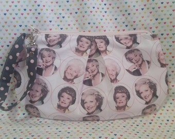 Golden Girls inspired Clutch Style bag
