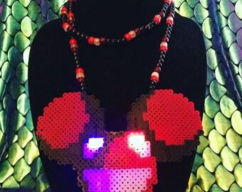 Light Deadmau5 Necklace