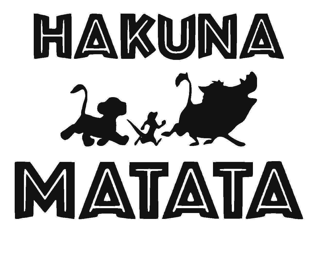 Disney S The Lion King Hakuna Matata Vinyl Decal Simba