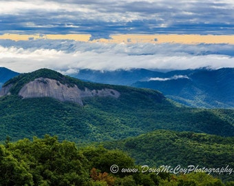 Looking Glass Rock on the Blue Ridge Parkway #3505