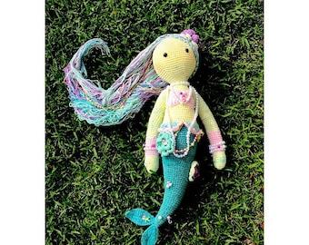 Crochet Mermaid Doll