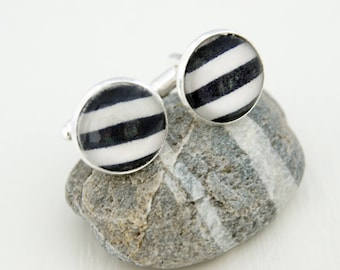SAILOR BLUE - BM007 CUFFLINKS