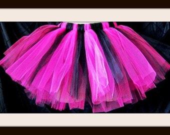 Hot pink and Black Tutu Custom orders alway welcome