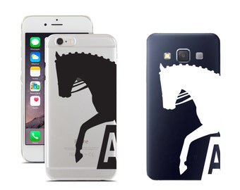 Dressage horse trot decal for phones, tablets, computers and more