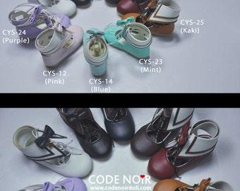 CODENOiR - Sailor BJD shoes for YoSD / 1/6 BJD