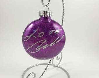 Christmas Ornament with Handwriting