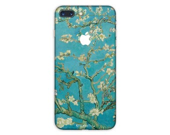 Cherry Blossom iPhone Skin Art iPhone Sticker Case Flower iPhone Decal iPhone 7 8 plus iPhone 6 iphone 10x iPhone 6s 6 plus 5 5s SE PS 059