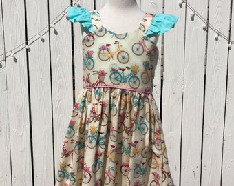 Bicycle Flower Dress