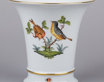 Herend Rothschild Bird Vase