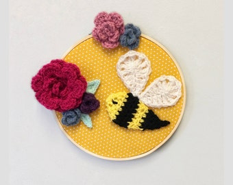 Smell the flowers wall hanging