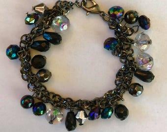 Jewel charm bracelet