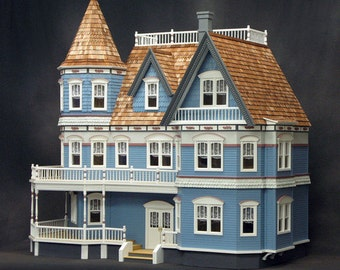 The Queen Anne Real Good Toys Dollhouse DIY Kit