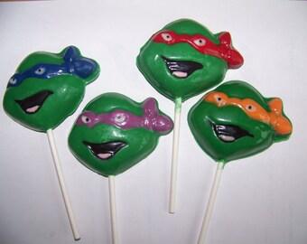8 pc. Ninja Turtles