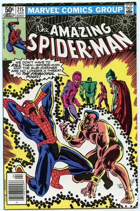 Amazing Spider-man 215 Apr 1981 NM- (9.2)