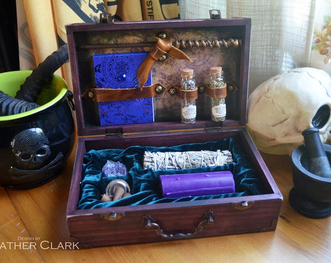 Fully Stocked Travelling Witch Kit Apothecary & Altar