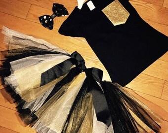 Black & Gold Tutu