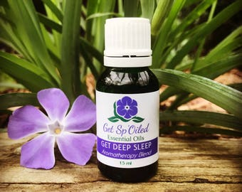 Get Deep Sleep Essential Oil Blend