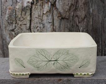 Handmade planter, white pot, cactus planter, bonsai pot, succulent pot, home decor, pottery planter, romantic pot, unique gift, ceramic pot