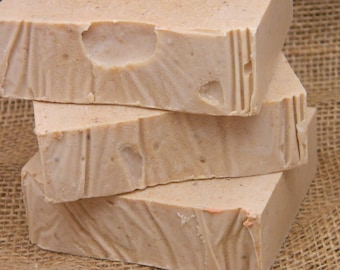 Coconut Goats Milk Soap cold processed soap handmade soap homemade soap bar soap