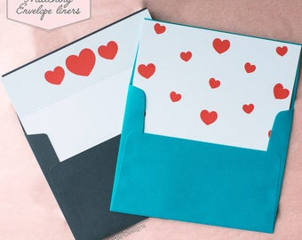 Printed Matching Envelope Liner | A2 Sized Liner | You're Amazeballs Card | Card for Co-worker or best friend | Cute Card | Cute Envelopes