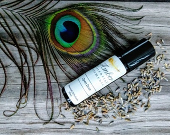 Open Door: lavender, ylang ylang, and patchouli natural perfume blend