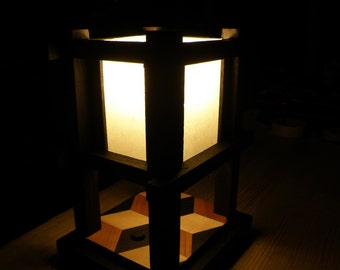 Small Asian style lamp