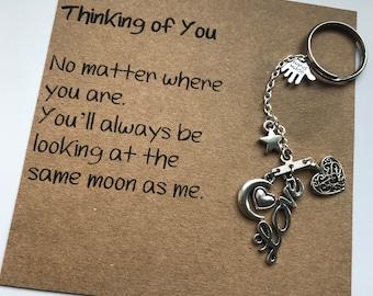 Thinking of You - Keyring / Bag Charm