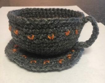 Crochet Teacup Set